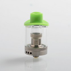 Authentic Demon Killer Magic Hat Sub Ohm Tank Clearomizer - Green, 316 Stainless Steel + PCTG, 4.5ml / 5ml, 24mm Diameter