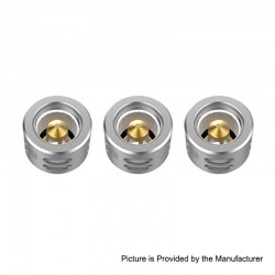 Authentic Vaporesso Replacement QF Meshed Coil Head for Skrr Sub Ohm Tank - 0.2 Ohm (55~85W) (3 PCS)