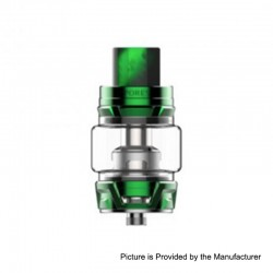 Authentic Vaporesso Skrr Sub Ohm Tank Clearomizer - Green, Stainless Steel, 8ml, 30mm Diameter