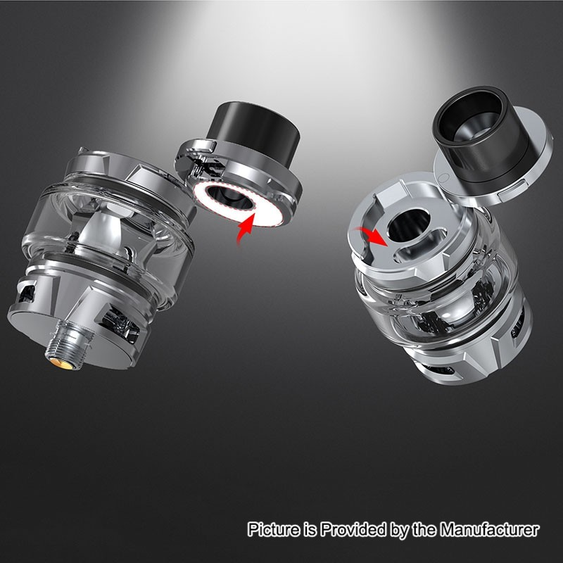 Buy Smoktech Smok Tfv8 Baby V2 White 5ml Tank Atomizer