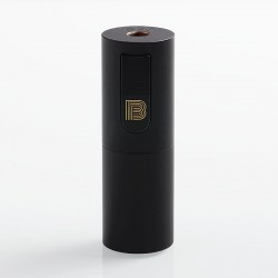 Vapeasy Mini B MiniB Style Mechanical Tube Mod - Black, Brass, 1 x 18650