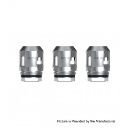 Authentic SMOKTech SMOK Replacement A3 Coil Head for TFV8 Baby V2 Sub Ohm Tank - Silver, 0.15ohm (60~100W) (3 PCS)