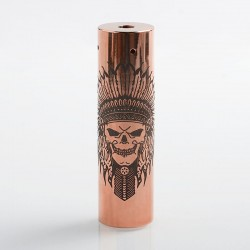 Rogue Rainmaker Style Hybrid Mechanical Tube Mod - Copper, Copper, 1 x 18650 / 20700