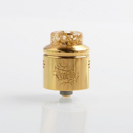 Authentic Wotofo Profile RDA Rebuildable Dripping Atomizer w/ BF Pin - Gold, Stainless Steel, 24mm Diameter