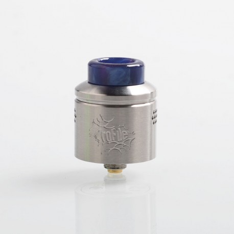 Authentic Wotofo Profile RDA Rebuildable Dripping Atomizer w/ BF Pin - Silver, Stainless Steel, 24mm Diameter