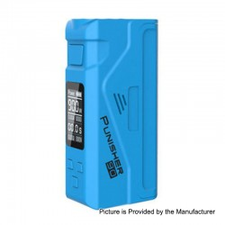 Authentic Dovpo Punisher 90W TC VW Variable Wattage Box Mod - Blue, 5~90W, 1 x 18650 / 20700 / 21700