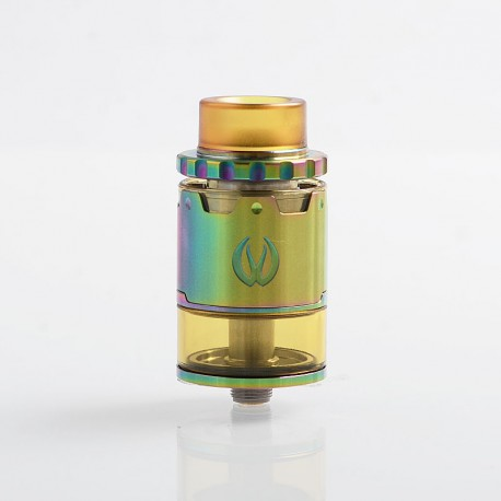 Authentic Vandy Vape Pyro V2 RDTA Rebuildable Dripping Tank Atomizer w/ BF Pin - Rainbow, 4ml, 24mm Diameter