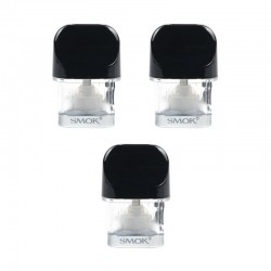 Authentic SMOKTech SMOK Replacement Pod Cartridge for Novo Pod System Kit - 2ml (3 PCS)