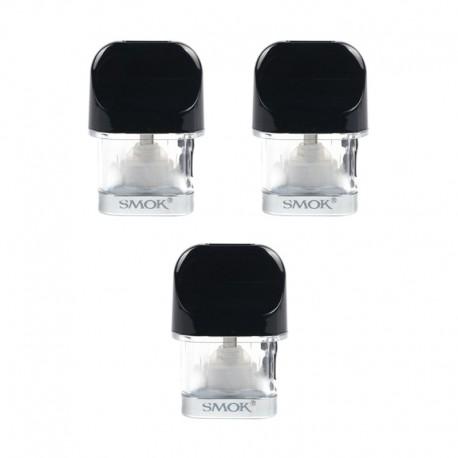 Authentic SMOKTech SMOK Replacement Pod Cartridge for Novo Pod System Kit - 2ml, 1.2ohm (3 PCS)