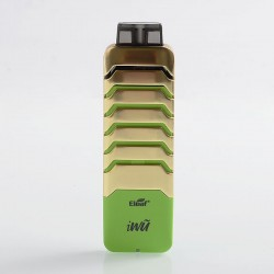 Authentic Eleaf iWu 15W 700mAh Pod System Starter Kit - Gold Greenery, 2ml, 1.3 Ohm