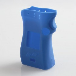 Vapesoon Protective Silicone Sleeve Case for SMOK Mag Mod Left Hand Edition - Blue