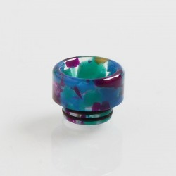 810 Replacement Drip Tip for TFV8 / TFV12 Tank / Goon / Kennedy / Reload RDA - Rainbow, Resin, 13mm