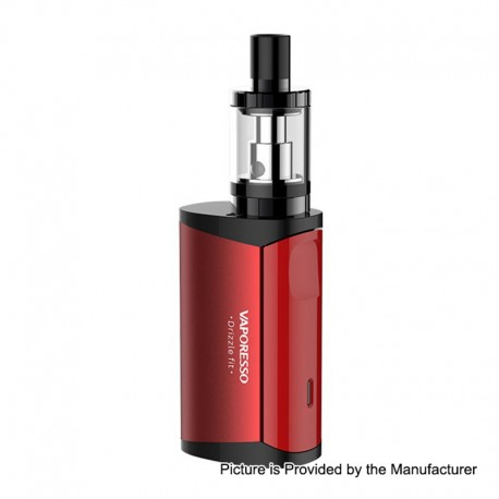 Authentic Vaporesso Drizzle Fit 1400mAh All-in-one Starter Kit - Red, Stainless Steel, 1.8ml
