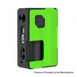 Authentic Vandy Vape Pulse X 90W TC VW Squonk Box Mod - Frosted Green, 5~90W, 1 x 18650 / 20700 / 21700