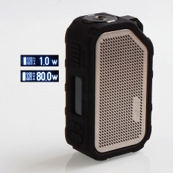 Authentic Wismec Active 2100mAh 80W TC VW Variable Wattage Box Mod - Silver, 1~80W
