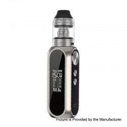 Authentic OBS Cube 80W 3000mAh VW Variable Wattage Starter Kit - Chrome, Zinc Alloy + Stainless Steel, 4ml, 0.2 Ohm