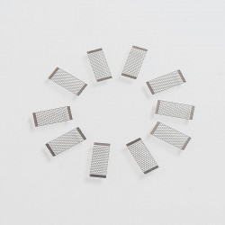 Authentic Wotofo Mesh Style Coil Rebuildable Mesh Sheet for Profile RDA - 0.18ohm (45~65W) (10 PCS)