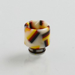 510 Replacement Drip Tip for RDA / RTA / Sub Ohm Tank Atomizer - White, Resin, 12mm