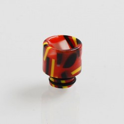510 Replacement Drip Tip for RDA / RTA / Sub Ohm Tank Atomizer - Red, Resin, 12mm