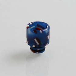 510 Replacement Drip Tip for RDA / RTA / Sub Ohm Tank Atomizer - Blue, Resin, 12mm