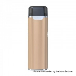 Authentic Joyetech eGo AIO Mansion 30W 1300mAh All-in-One Pod System Starter Kit - Gold, 2ml, 0.6 Ohm