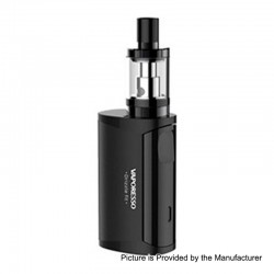 Authentic Vaporesso Drizzle Fit 1400mAh All-in-one Starter Kit - Black, Stainless Steel, 1.8ml