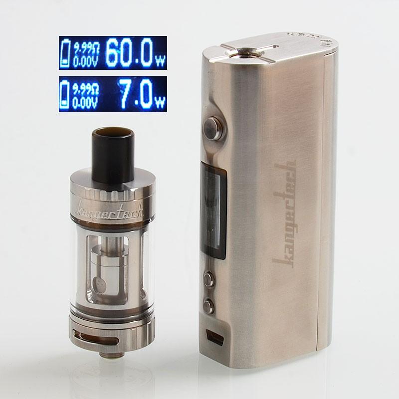97771db1f3b Buy Kanger TOPBOX Mini 60W Platinum Edition Silver Mod Kit