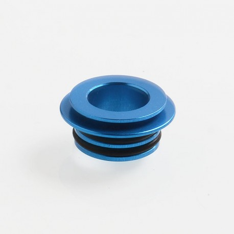 Authentic Coil Father 810 to 510 Drip Tip Adapter for RDA / RTA / Sub Ohm Tank - Blue, Aluminum