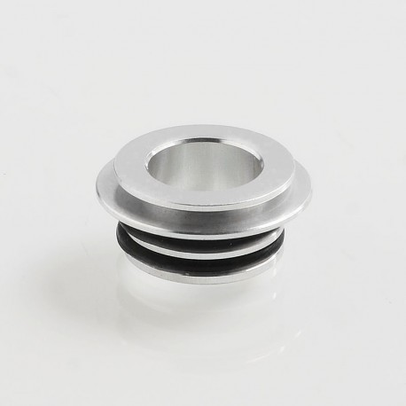 Authentic Coil Father 810 to 510 Drip Tip Adapter for RDA / RTA / Sub Ohm Tank - Silver, Aluminum