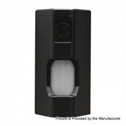 Authentic Reload BF Squonk Mechanical Box Mod - Black, Aluminum, 2 x 18650, 9ml