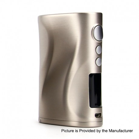 Authentic Nikola Medea 218W TC VW Variable Wattage Box Mod - Silver, Zinc Alloy, 7~218W, 2 x 18650