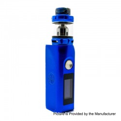 Authentic Asmodus Colossal 80W TC VW Box Mod + Wotofo Flow Pro Sub Ohm Tank Kit - Blue, 5~80W, 1 x 18650, 5ml, 25mm Diameter