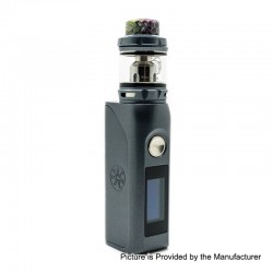 Authentic Asmodus Colossal 80W TC VW Box Mod + Wotofo Flow Pro Sub Ohm Tank Kit - Grey, 5~80W, 1 x 18650, 5ml, 25mm Diameter