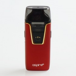 Authentic Aspire Nautilus AIO 12W 1000mAh Pod System Starter Kit - Red, 4.5ml, 1.8 Ohm