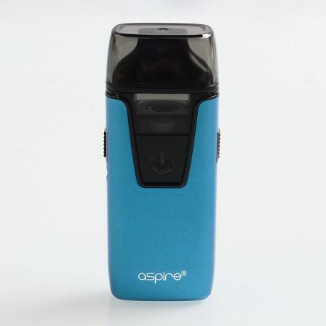 Authentic Aspire Nautilus AIO 12W 1000mAh Pod System Starter Kit - Blue, 4.5ml, 1.8 Ohm