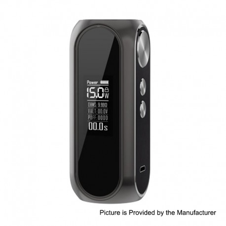 Authentic OBS Cube 80W 3000mAh VW Variable Wattage Built-in Battery Box Mod - Gun Metal, Zinc Alloy