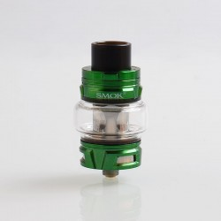 Authentic SMOKTech SMOK TFV8 Baby V2 Sub Ohm Tank Clearomizer - Green, Stainless Steel, 5ml, 30mm Diameter