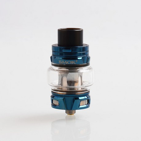 Authentic SMOKTech SMOK TFV8 Baby V2 Sub Ohm Tank Clearomizer - Prism Blue, Stainless Steel, 5ml, 30mm Diameter