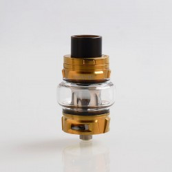 Authentic SMOKTech SMOK TFV8 Baby V2 Sub Ohm Tank Clearomizer - Gold, Stainless Steel, 5ml, 30mm Diameter
