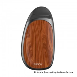 Authentic Aspire Cobble 700mAh All-in-one Pod System Starter Kit - Wood Grain, 1.8ml, 1.4 Ohm