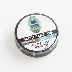Authentic Akattak Black Label Alien Clapton Nichrome 80 Heat Resistance Wire Spool - 3 x 28GA + 32GA (10 Feet)