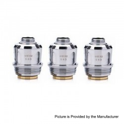 Authentic GeekVape Meshmellow Replacement Coil for Alpha Sub Ohm Tank Clearomizer - 0.4 Ohm, 50~80W (3 PCS)