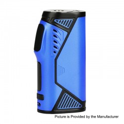 Authentic Uwell Hypercar 80W TC VW Variable Wattage Box Mod - Sapphire Blue, Zinc Alloy, 5~80W, 1 x 18650
