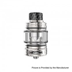 Authentic Smoant Naboo Sub Ohm Tank Clearomizer - Silver, Stainless Steel, 0.17 / 0.18 Ohm, 4ml, 25mm Diameter