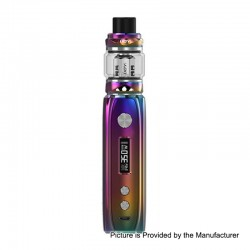 Authentic IJOY Katana 81W 3000mAh ALM TC VW Variable Wattage Mod + Sub Ohm Tank Starter Kit - Rainbow, 0.2 Ohm, 25mm Diameter