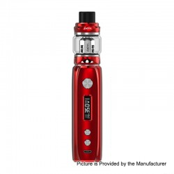 Authentic IJOY Katana 81W 3000mAh ALM TC VW Variable Wattage Mod + Sub Ohm Tank Starter Kit - Red, 0.2 Ohm, 25mm Diameter