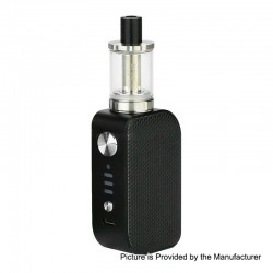 Authentic Arctic Dolphin ELUX 1300mAh TC VW Box Mod + Sub Ohm Tank Starter Kit - B-Honeycomb, 5~30W, 2ml, 2 Ohm