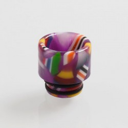 510 Replacement Drip Tip for RDA / RTA / Sub Ohm Tank Atomizer - Purple, Resin, 13mm