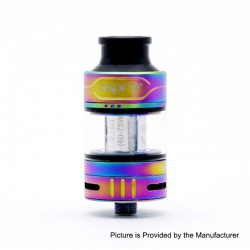 Authentic Aspire Cleito Pro Sub Ohm Tank Clearomizer - Rainbow, 3ml, 0.5 / 0.15 Ohm, 24mm Diameter