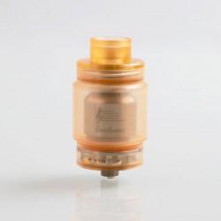 Authentic Ystar Beethoven RTA Rebuildable Tank Atomizer - Orange, Resin + Stainless Steel, 5.5ml, 24.7mm Diameter